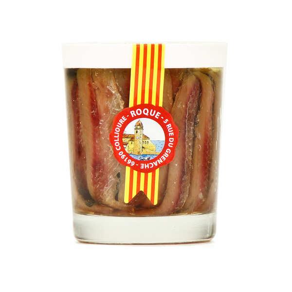 Filets d'anchois à l'huile