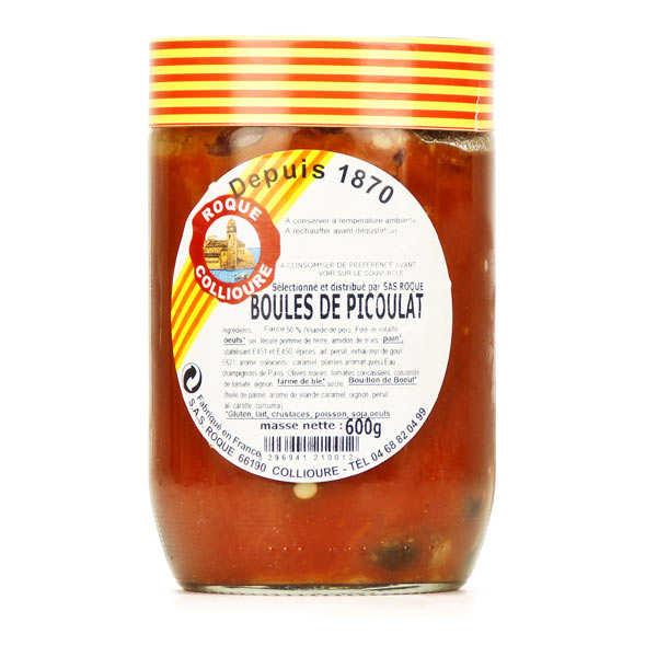Boles de picoulat spécialité catalane