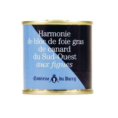 Comtesse du Barry - Harmonie de bloc de foie gras de canard aux figues