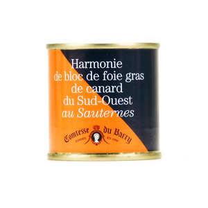 Comtesse du Barry - Duck foie gras with Sauternes Wine