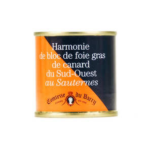 Comtesse du Barry - Harmonie de bloc de foie gras de canard au Sauternes