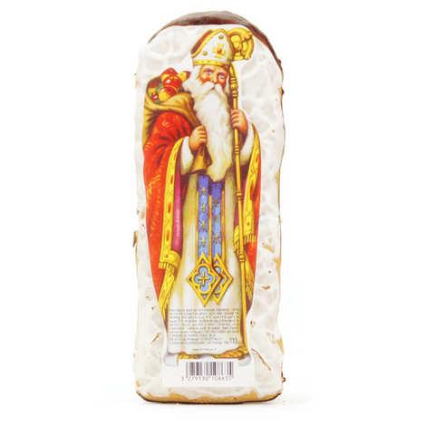 Fortwenger - Saint Nicolas glacé - pain d'épices alsacien non levé