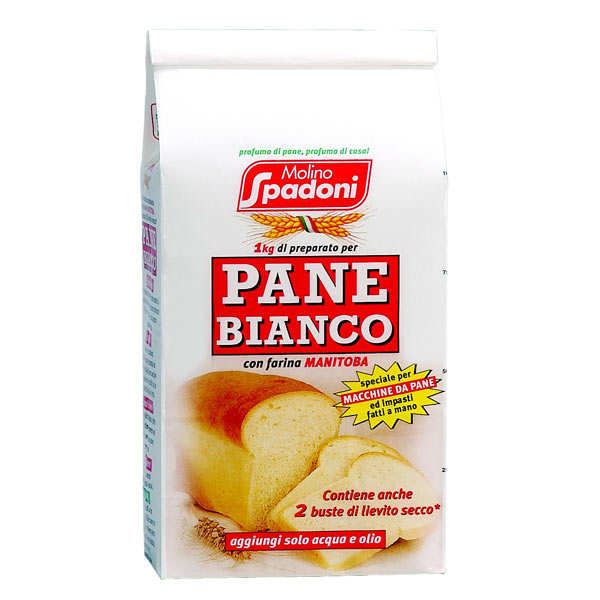 Farine pour pain blanc avec farine Manitoba