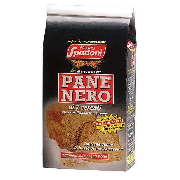 Préparation italienne pour pain noir aux 7 céréales