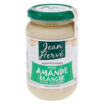 Jean Hervé - Organic White Almonds Paste Without Cooking(350g)