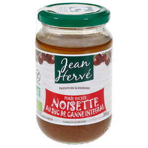 Jean Hervé - Organic Mashed Hazelnut with Cane Juice
