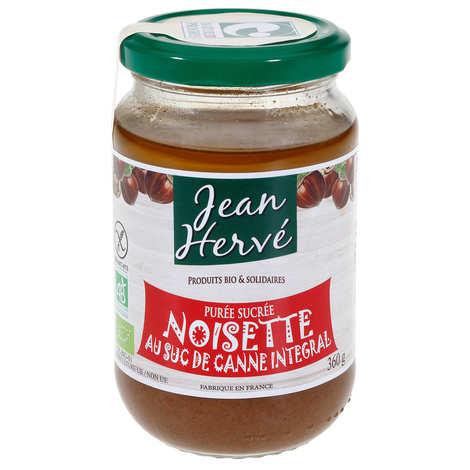 Jean Hervé - Purée de noisettes au suc de canne bio