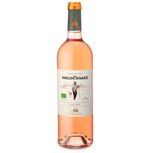 Amountanage rosé Luberon bio - 12,5%