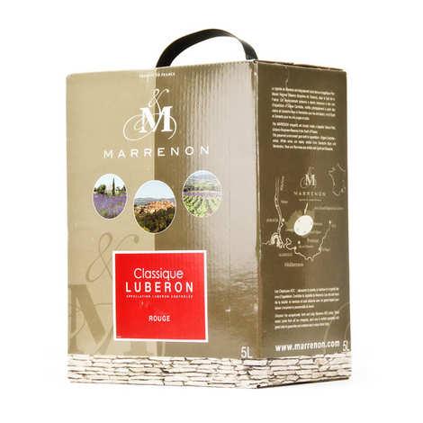 Marrenon - Marrenon Classique - Lubéron vin rouge 13,5%
