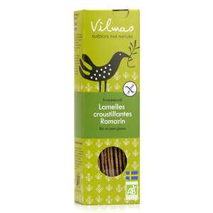 Vilmas Knäckebröd AB - Organic rosemary crackers