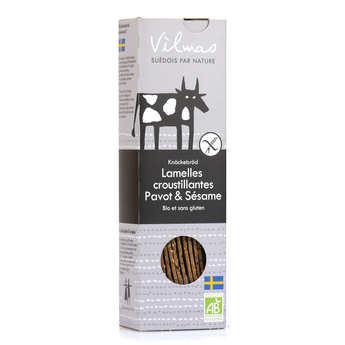 Vilmas Knäckebröd AB - Organic Black and White Crispbread Slats