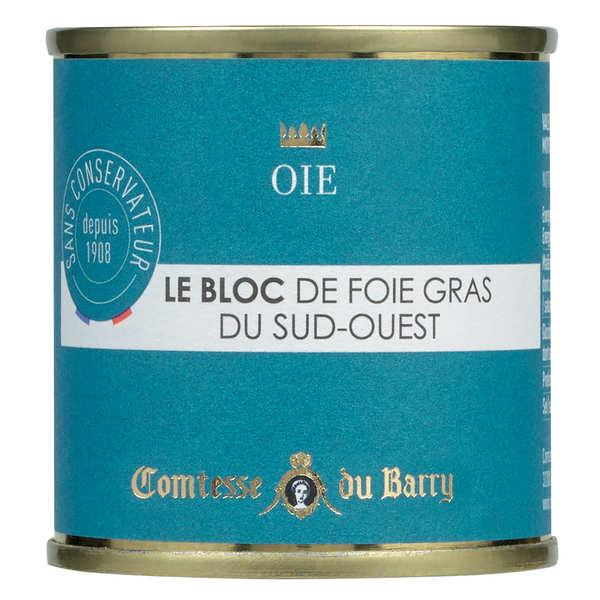 Bloc de foie gras d'oie du Sud-Ouest