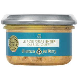 Comtesse du Barry - Foie gras entier d'oie fermière du Sud-Ouest