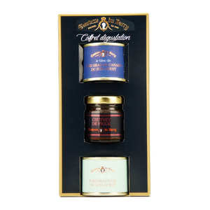Comtesse du Barry - Foie Gras and Fig Chutney Assortments