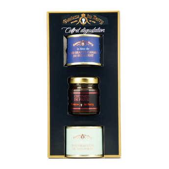 Comtesse du Barry - Coffret de foie gras d'oie et de canard et chutney de figues