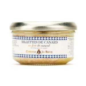Comtesse du Barry - Rillettes de canard au foie gras de canard 20%