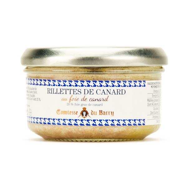 Rillettes de canard au foie gras de canard 20%