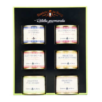 Comtesse du Barry - Coffret de 6 rillettes gourmandes