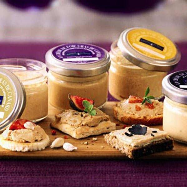 Tourbillon de 4 crèmes de foie gras