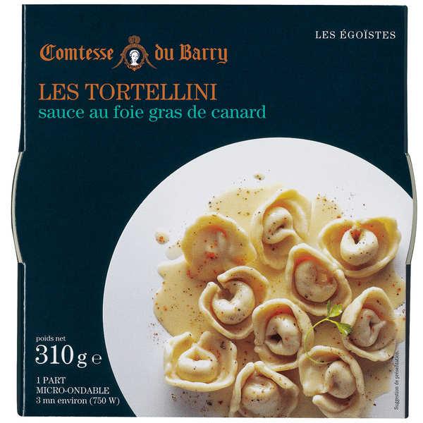 Tortellini with Foie Gras Sauce