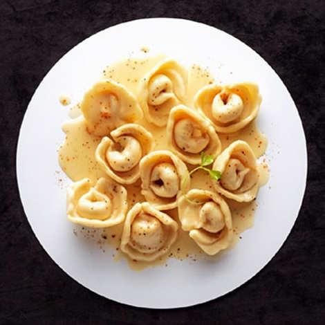 Comtesse du Barry - Tortellini with Foie Gras Sauce