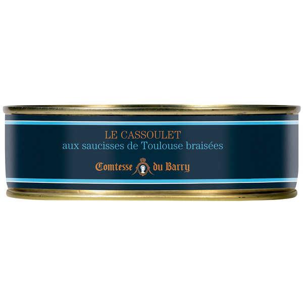 Cassoulet gimontois et ses saucisses de Toulouse grillées