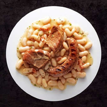 Comtesse du Barry - Cassoulet Gimontois and Grilled Toulouse Sausages