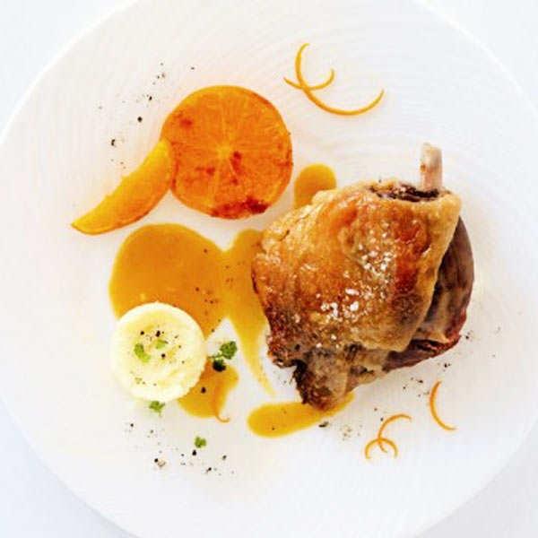Farmer Duck with Orange