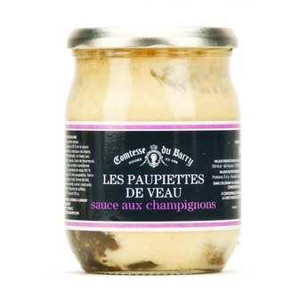 Comtesse du Barry - Veal Cutlets Mushroom Sauce