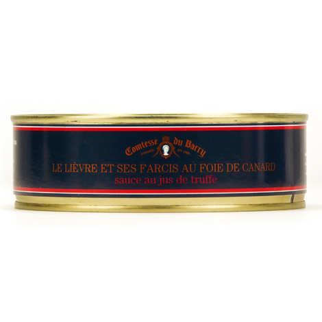 Comtesse du Barry - Lièvre et ses farcis au foie gras sauce au jus de truffe