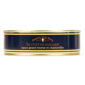 Comtesse du Barry - Civet de sanglier sauce grand veneur et chanterelles