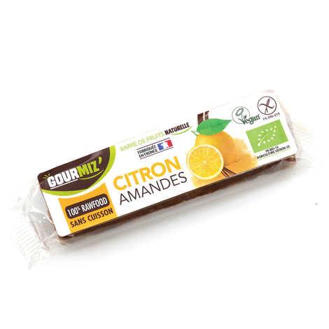 Gourmiz - Barre crue et bio Citron - Amandes