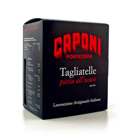 Pastificio Caponi - Tagliatelles aux oeufs italiennes Caponi