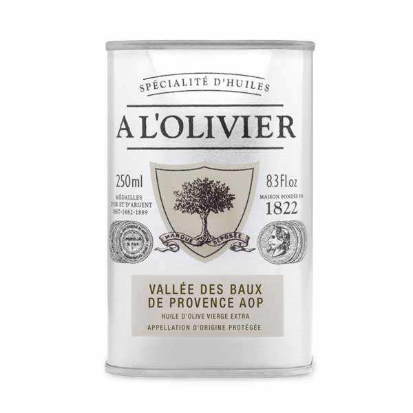 Huile d 39 olive vall e des baux de provence aoc a l 39 olivier for Huile d olive salon de provence