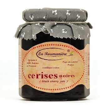 La Roumanière - Confiture de cerises noires
