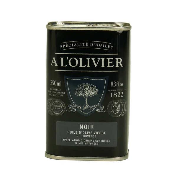 Huile d'olive vierge fruité noir de Provence AOC