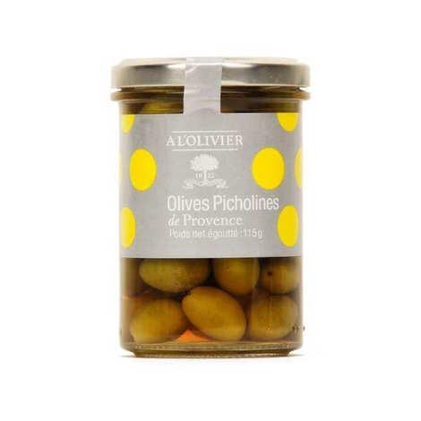 A L'Olivier - Olives vertes picholines de Provence