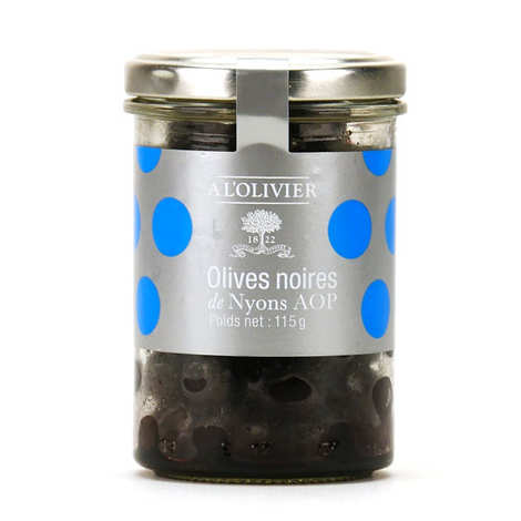 A L'Olivier - Black Olives from Nyons A.O.P