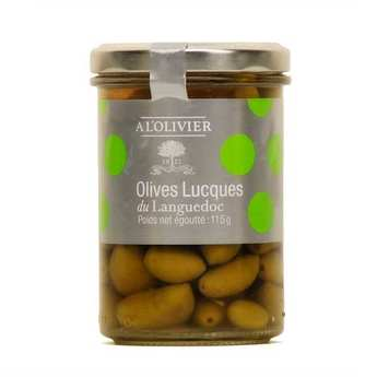 A L'Olivier - Lucques Green Olives from Languedoc AOP