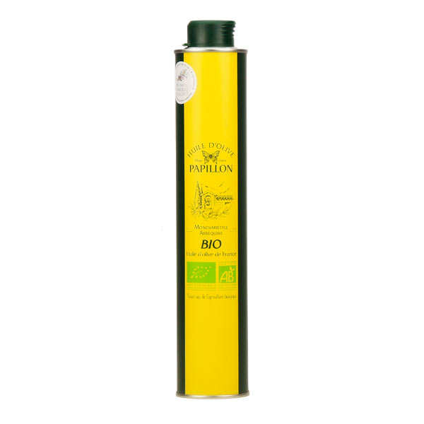 Huile d'olive vierge extra bio Arbequine