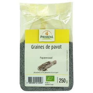 Priméal - Graines de pavot bleu bio