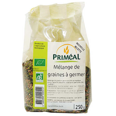 Priméal - Mix of organic seeds to germinate