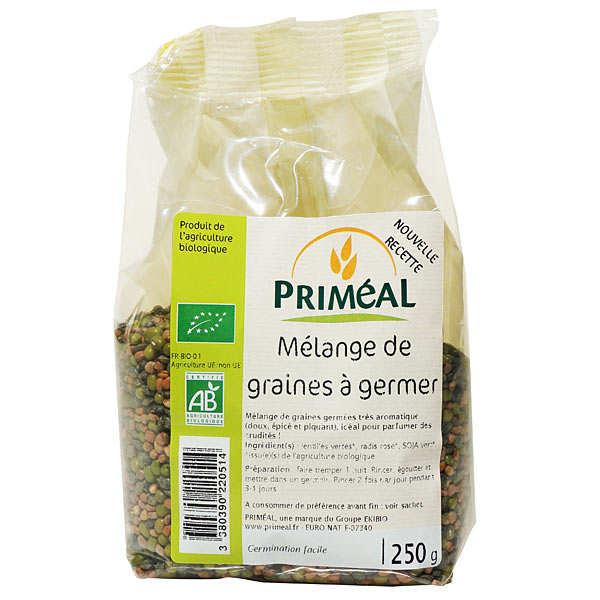 Mélange de graines à germer bio