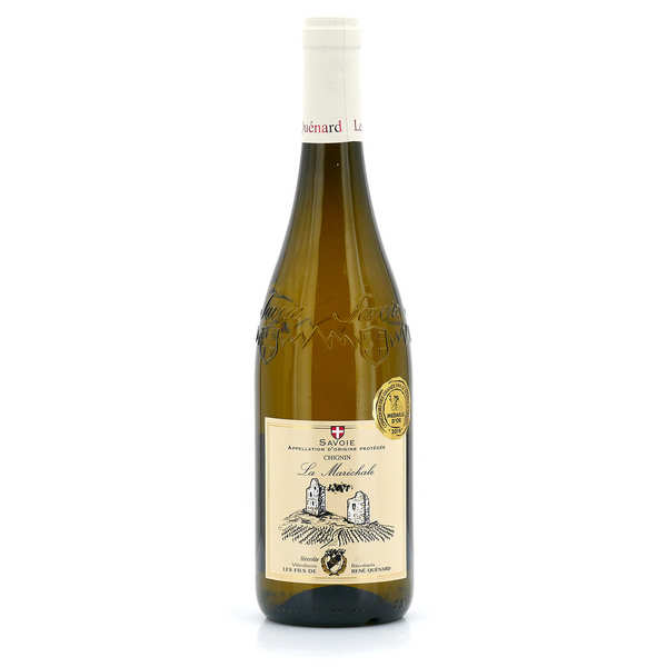 Chignin blanc la maréchale - vin blanc de savoie - 12% - 2014 - bouteille 75cl