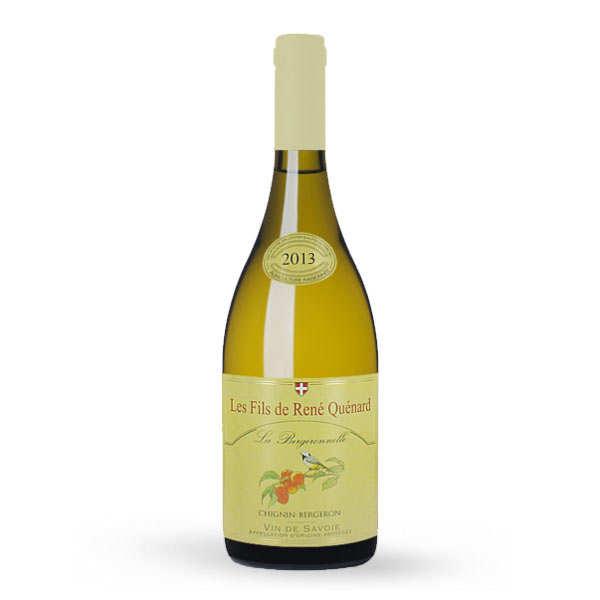 Chignin Bergeron La Bergeronnelle - Vin blanc de Savoie - 12,5%