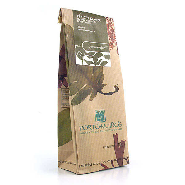 Red rooibos tea with kombu seaweed