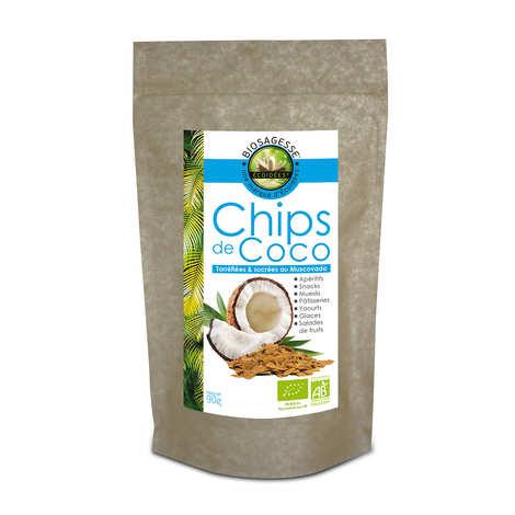 Biosagesse - Chips de coco bio & équitable
