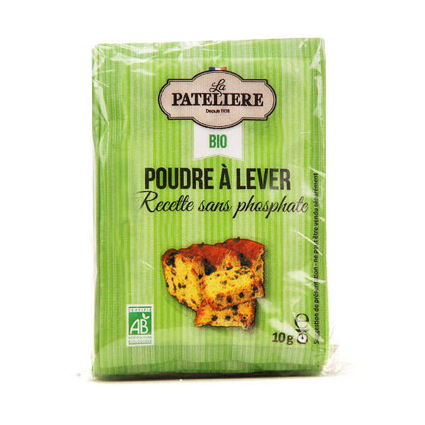 Organic Baking powder without phosphate