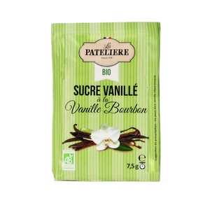 La Patelière bio - Organic vanilla-flavoured sugar
