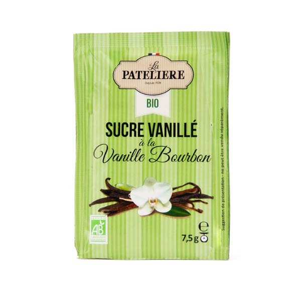 Sucre naturel vanillé bio